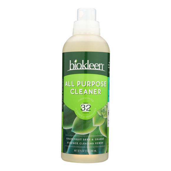 Biokleen Super Concentrated All Purpose Cleaner - 32 fl oz Pack of 3