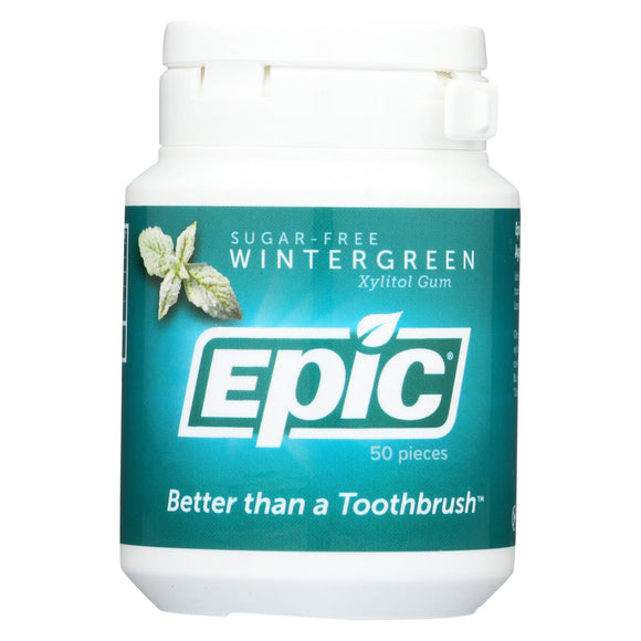 Epic Dental - Xylitol Mints - Wintergreen - 50 CT Pack of 3