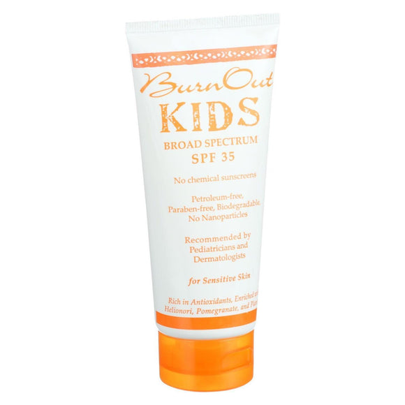 Burn Out - Physical Sunscreen - Kids - SPF 35 - 3.4 oz Pack of 3