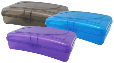 Pencil Box Asst Pack of 3