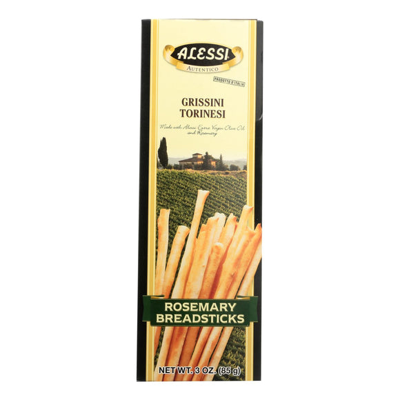 Alessi - Breadsticks Rosemary - Case Of 12 - 3 Oz