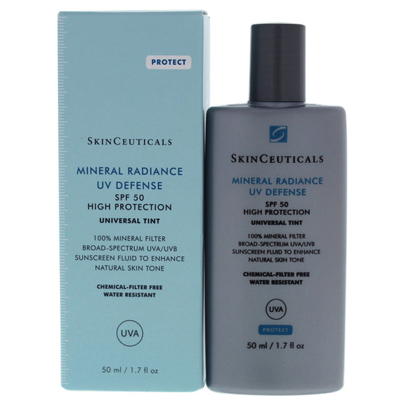 Mineral Radiance UV Defense SPF 50 by SkinCeuticals for Woman - 1.7 oz Sunscreen Pack of 3