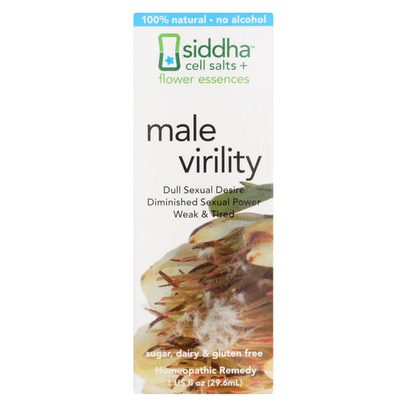 Siddha Flower Essences Male Virility - 1 fl oz Pack of 3