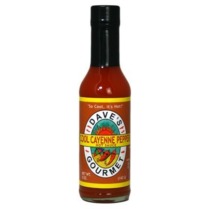 Dave's Gourmet - Hot Sauce - Cool Cayenne - Case of 12 - 5 fl oz.