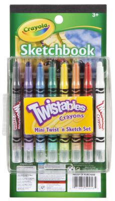 Crayola Mini Twist And Sketch Set Pack of 2