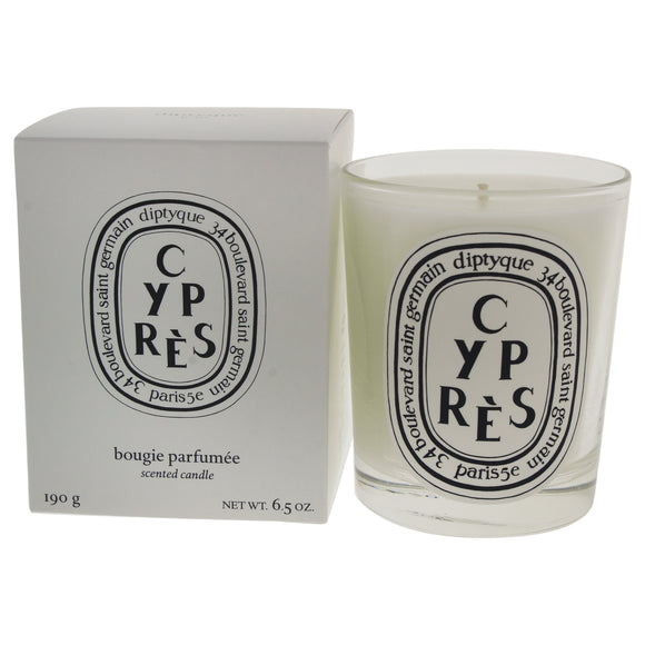 Cypres Scented Candle by Diptyque for Unisex - 6.5 oz Candle Pack of 3