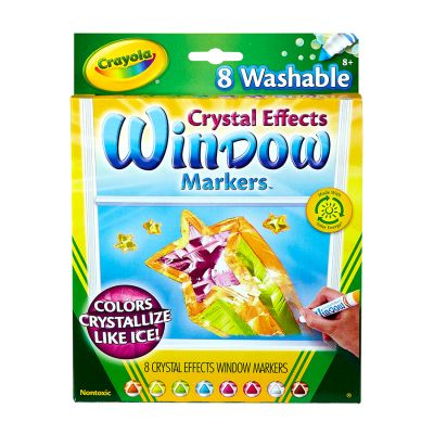 Crayola Window Markers 8Ct Pack of 6