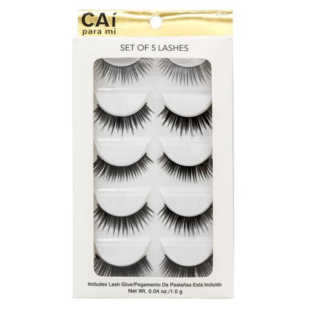 5 Pack Lashes Pack of 2