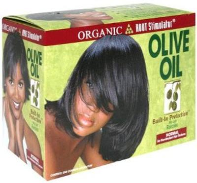Ors Olive Oil Built In Protection No Lye Hair Relaxer Kit Normal                Pack of 6