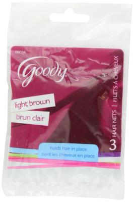 Hair Net Light Brown #10Lb Pack of 6
