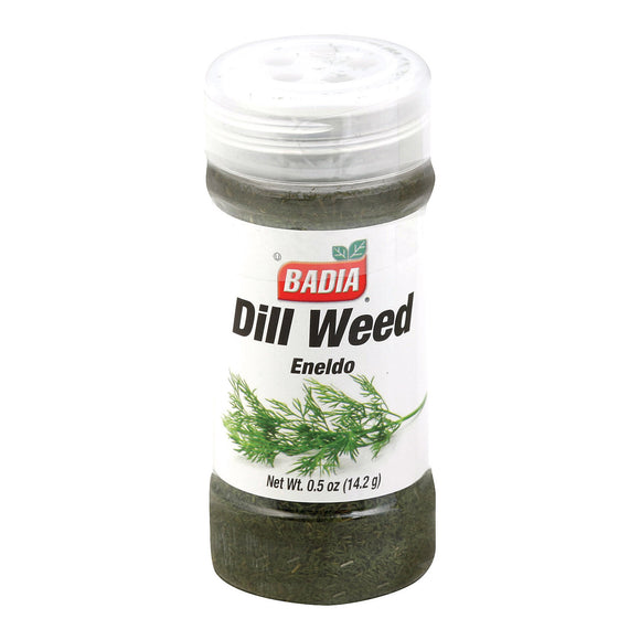 Badia Spices - Spice Dillweed - Case of 8 - .5 OZ
