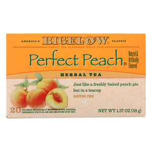 Bigelow Tea Tea - Peach - Case of 6 - 20 BAG