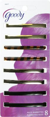 Stary Tght Barrettes 8Ct Pack of 3