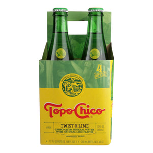 Topo Chico, Sparkling Water, Lime - Case of 6 - 4/12 FZ