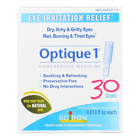 Boiron - Optique 1 Eye Drops - 30 Count Pack of 3