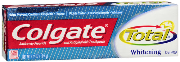Colgate Total Whiteni Gel 4.2Z Pack of 3