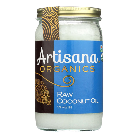 Artisana Oil - Coconut - Case of 6 - 14 FL oz.