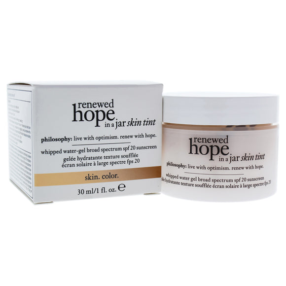 Renewed Hope In A Jar Skin Tint SPF 20 - 2.5 Ivory by Philosophy for Women - 1 oz Sunscreen Pack of 3