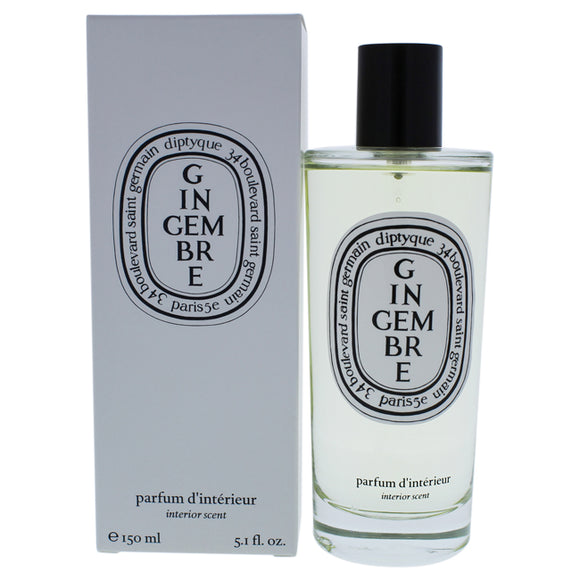 Gingembre Interior Scent by Diptyque for Unisex - 5.1 oz Room Spray Pack of 3