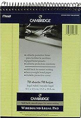 Camb Canary Legal Wirebd Pd Pack of 3