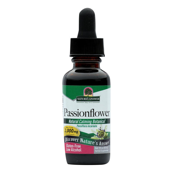 Nature's Answer - Passionflower Herb - 1 fl oz Pack of 3