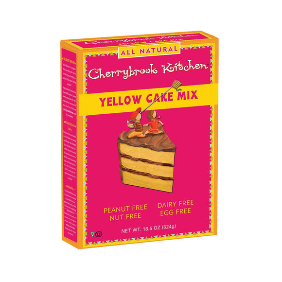 Cherrybrook Kitchen - Yellow Cake Mix - Case of 6 - 16.3oz