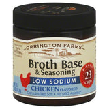 Orrington Farms Low Sodium Broth Base and Seasoning - Chicken - Case of 6 - 5 oz.