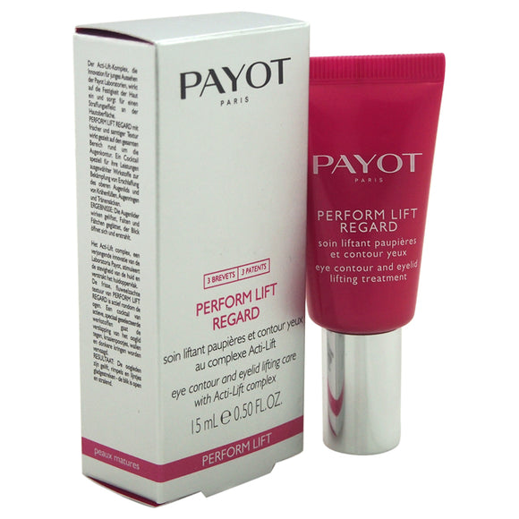 Perform Lift Regard Eye Contour & Eyelid Lifting Care by Payot for Women - 0.50 oz Treatment Pack of 3