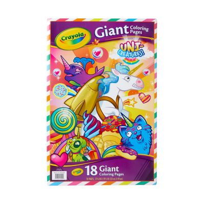 Crayola Unicreature Gnt Clr Pages Pack of 6