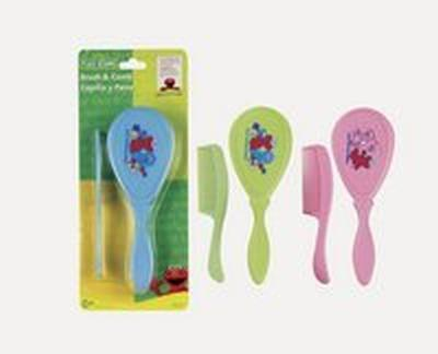 Sesame Street Comb & Brush Pack of 6