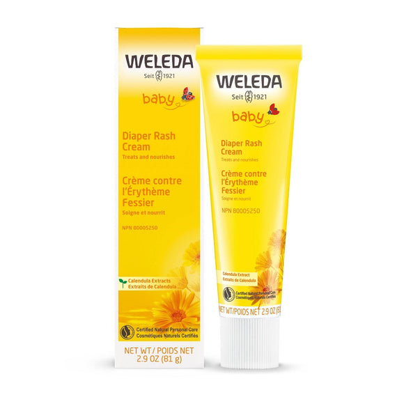 Weleda Baby Calendula Diaper Care - 2.8 fl oz Pack of 3