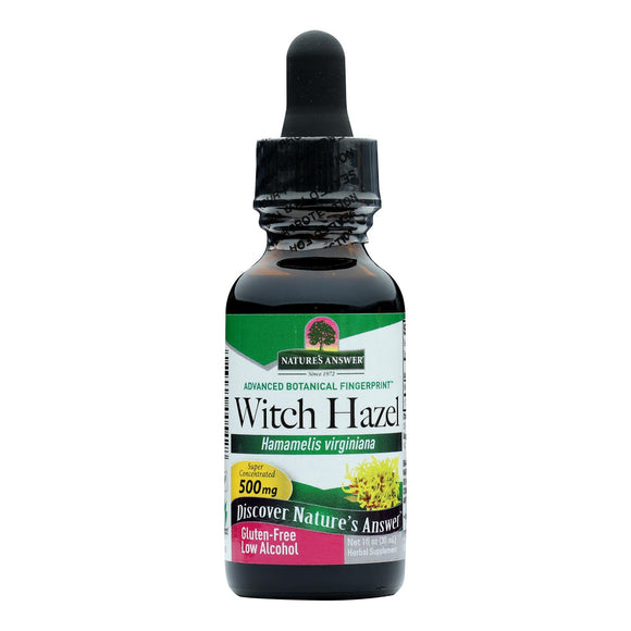 Nature's Answer - Witch Hazel Leaf and Twig - 1 fl oz Pack of 3