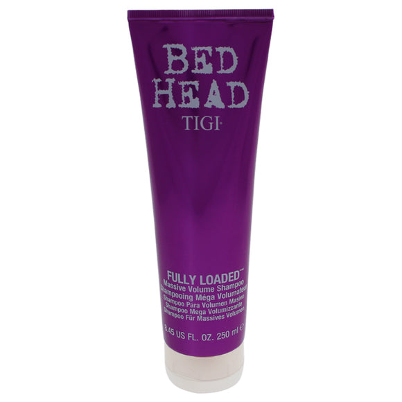 Bed Head Fully Loaded Massive Volume Shampoo by TIGI for Unisex - 8.45 oz Shampoo Pack of 3