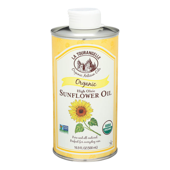 La Tourangelle Sunflower Oil - Case of 6 - 16.9 Fl oz.