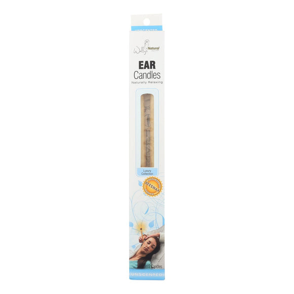 Wally's Beeswax Ear Candle - 2 Candles Pack of 3