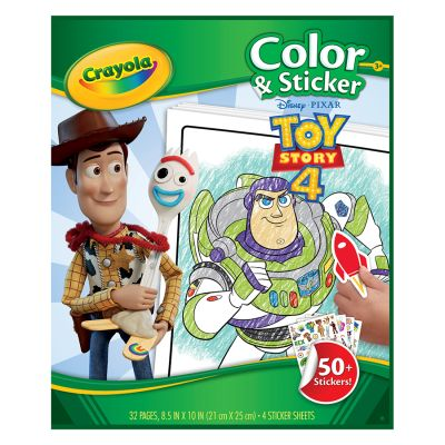 Crayola Clr & Stkr Toy Story Pack of 6