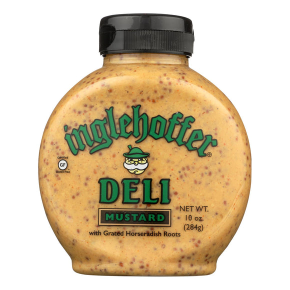 Inglehoffer - Mustard Deli Squeeze - Case of 6 - 10 OZ
