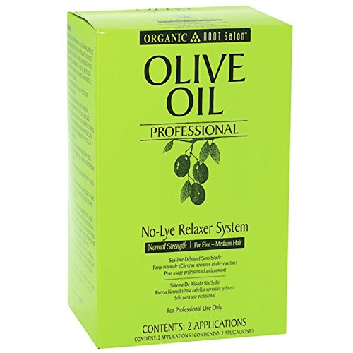 Ors Olive Oil Professional No Lye Relaxer System Kit Normal Strength         Pack of 6