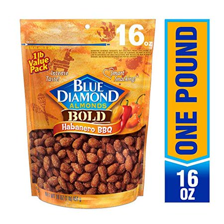 Blue Diamond Almonds - Case of 6 - 16 OZ