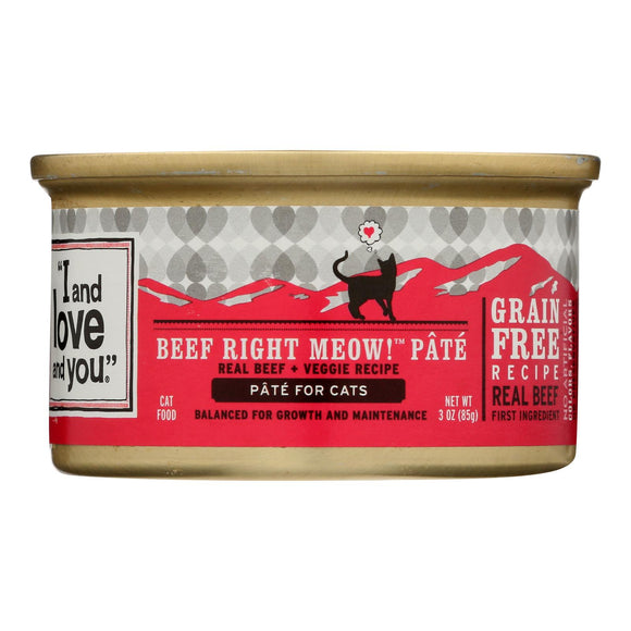 I and Love and You Wholly Cow - Wet Food - Case of 24 - 3 oz.