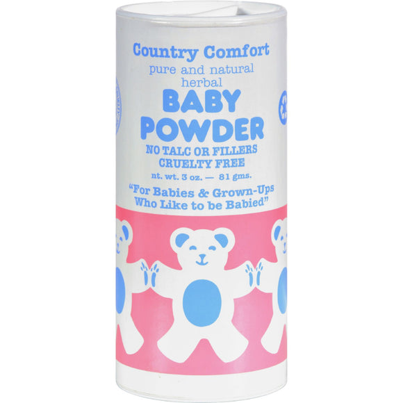 Country Comfort Baby Powder - 3 oz Pack of 3