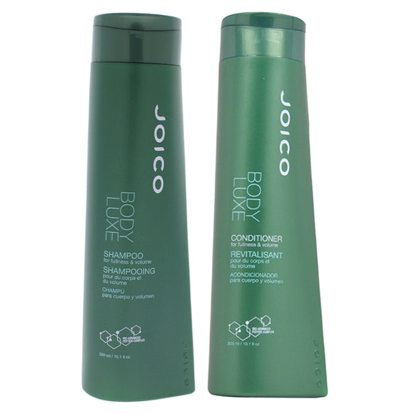 Body Luxe Thickening Shampoo and Conditioner Kit by Joico for Unisex - 2 Pc Kit 10.1oz Shampoo, 10.1 Pack of 3