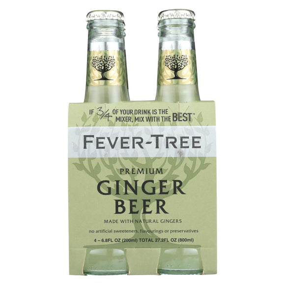 Fever - Tree Ginger Beer - Beer - Case of 4 - 6.8 FL oz.