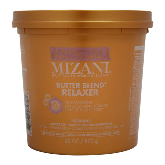 Mizani Butter Blend Normal Relaxer 30 Oz Pack of 6