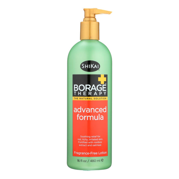 Shikai Products Borage Therapy Advanced Formula Lotion - 16 Fl oz. Pack of 3