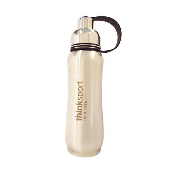 Thinksport Insulated Sports Bottle - Silver - 17 fl oz Pack of 3