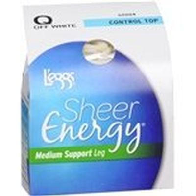 Leggs Sh.Energy Ct,St Of/Blk Q Pack of 3