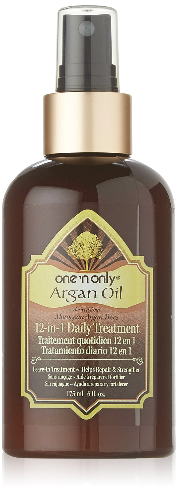 One N Only Argan Oil 12-In-1 Daily Treatment 6 Fl Oz Pack of 12