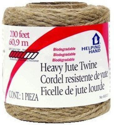 Twine Heavy Jute 200Ft Pack of 3