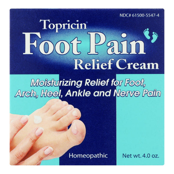 Topricin Foot Therapy - 4 oz Pack of 3